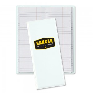 Pipe Tally Book - White