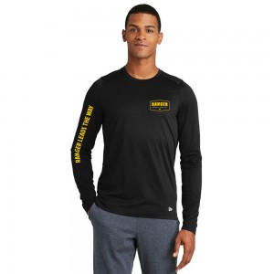 Long Sleeve T Shirt - Black