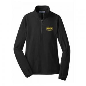 Microfleece 1/2 Zip Pullover (Ladies) - Black